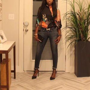 Zara oriental style body suit